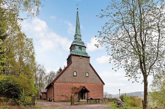 A Swedish Church Conversion That You Wouldn't Expect