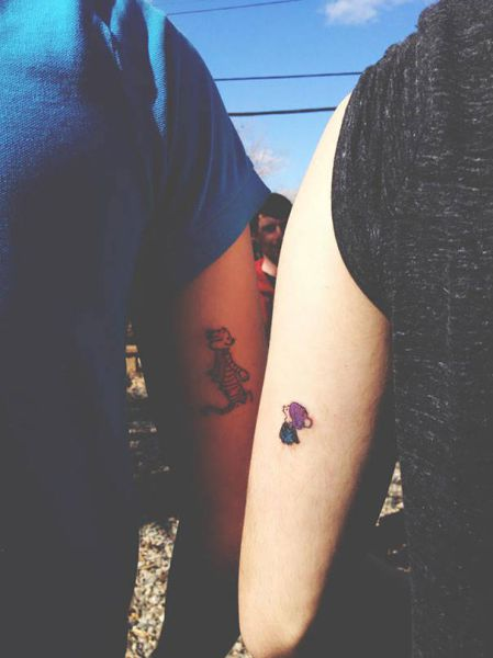 Friends Who Get Old Together Tattoo Together