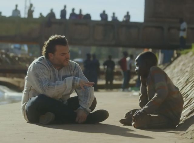 Jack Black Breaks Down after Meeting an Uganda Boy Forced to Live on the Streets