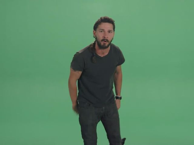 Shia LaBeouf Delivers Quite an Intense Motivational Speech
