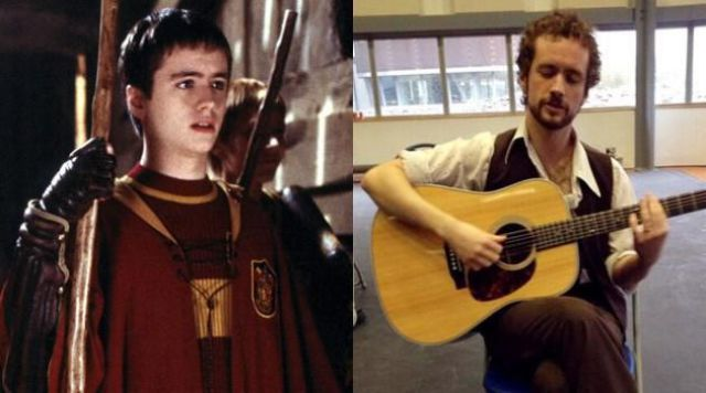 Harry Potter's Cast Then and Now