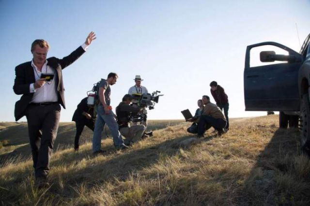 On Set for the Making of Interstellar