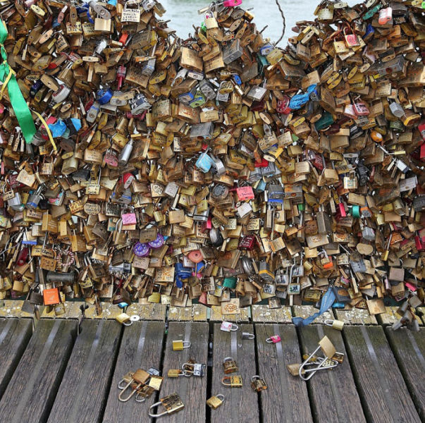Let's Hope Real Love Lasts Longer Than These Love Locks