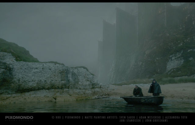 "We Have Matte Paintings to Thank for the Epic Sets in ""Game of Thrones"""