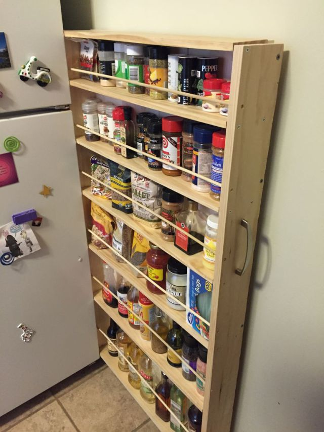 How to Turn a Tiny Space into a Perfect Pantry