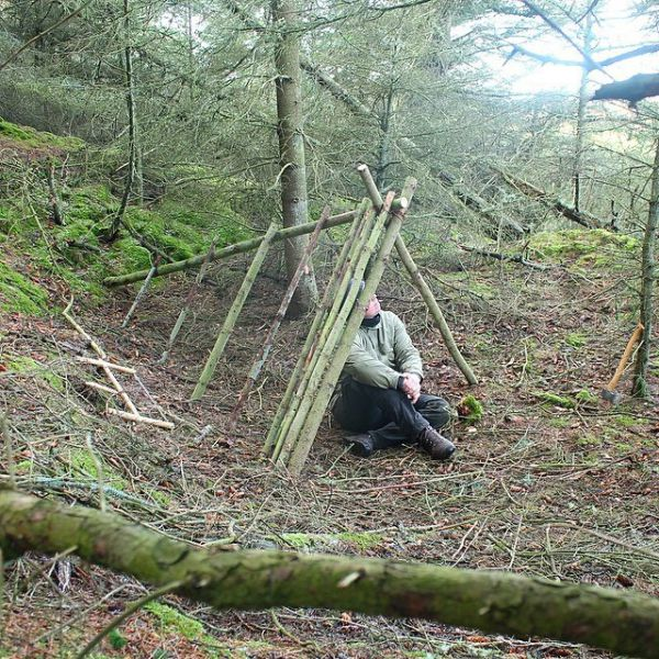 Make Your Own Shelter in the Wild