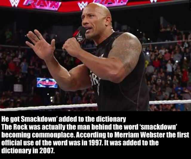 "Things You Will be Interested to Learn about ""The Rock"""