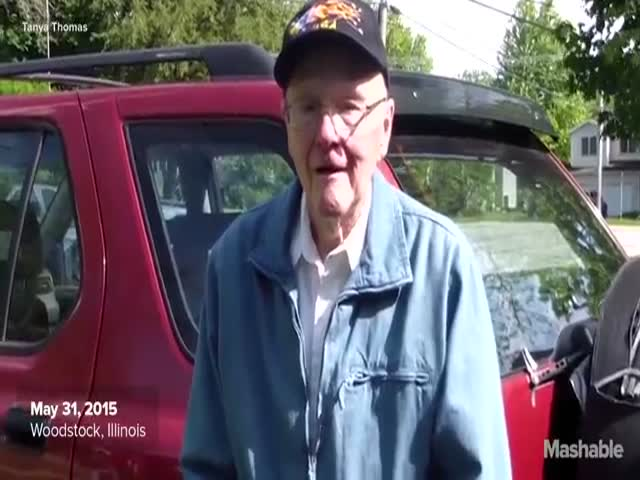 91 Year Old Ticks off Everything on His Bucket List with This Last Wish