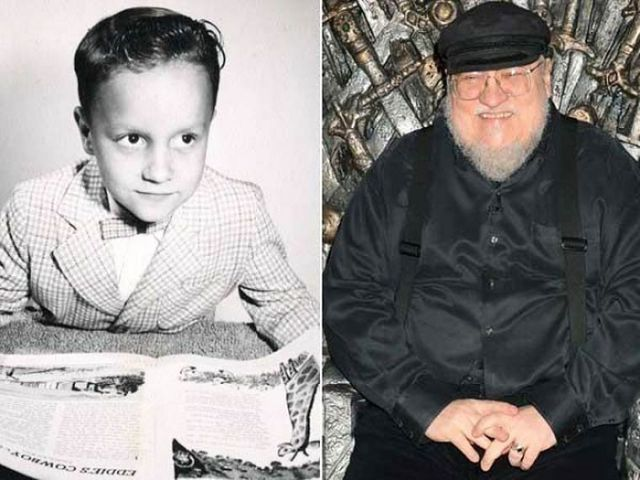 """Candid Photos of the """"Game of Thrones"""" Cast as Much Younger Kids"""