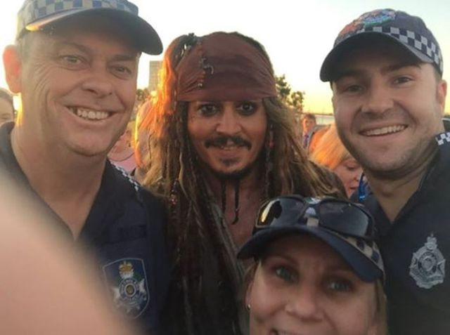 Johnny Depp Fans Get to Meet the Real Jack Sparrow