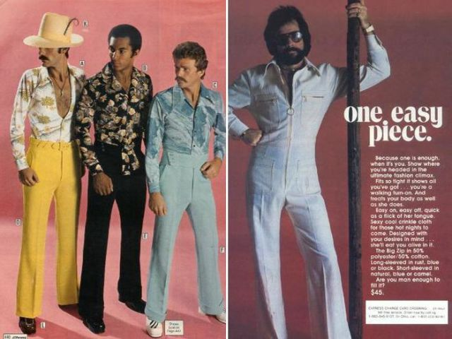 Men's Fashion Was Just Odd in the 70s