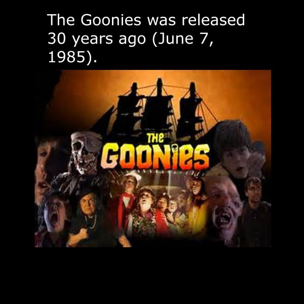 The Goonies Is Turning 30 and It's Time for Trip Down Memory Lane