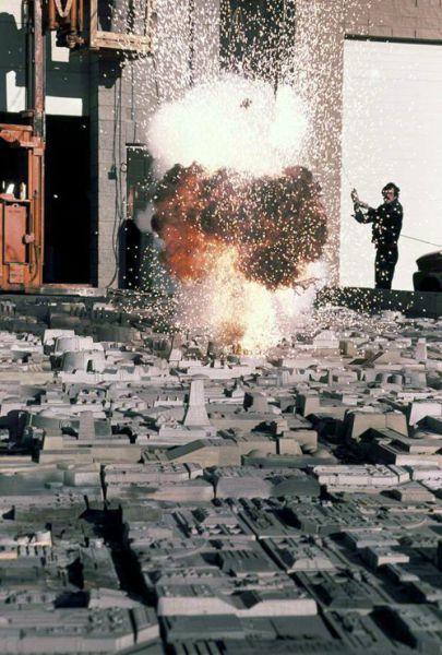 A Look Back at the On Set Special Effects for the Star Wars Films