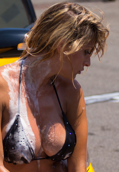 The Best Car Washes Always Get a Little Wet 'n Wild