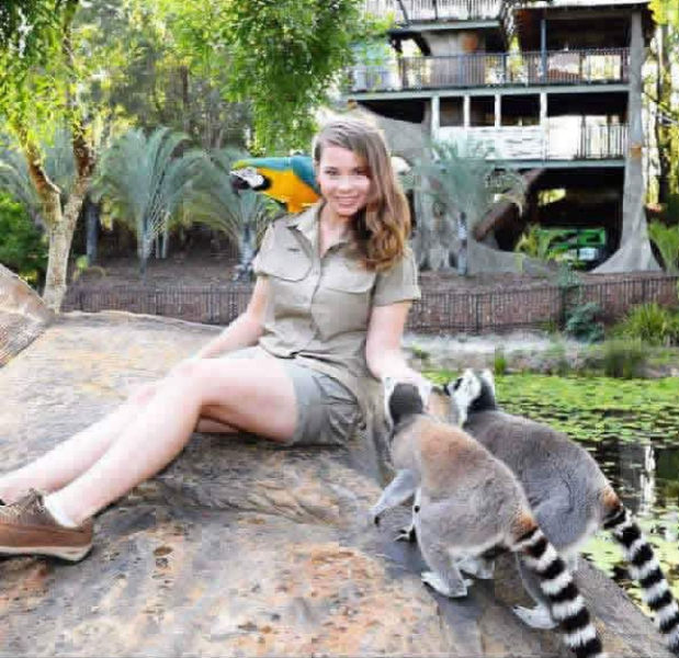 "The ""Crocodile Hunter's"" Daughter Keeps His Legend Alive"