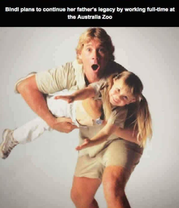 "The ""Crocodile Hunter's"" Daughter Keeps His Legend Alive"