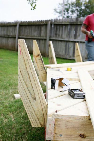 A Homemade Garden Set That Cost Almost Nothing to Make