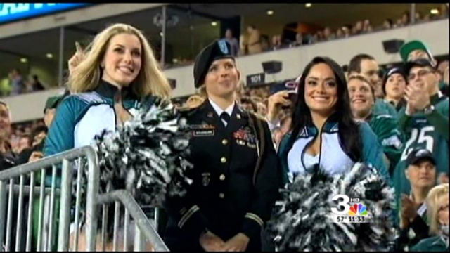 The Girl Who Went from Cheerleading to Warfare in a Drastic Career Change