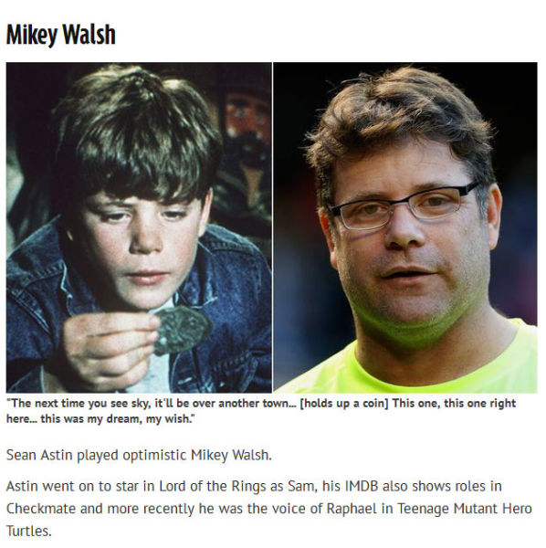 """The Goonies"" Cast 30 Years Later"