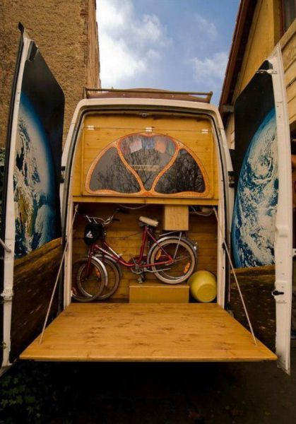 This Van Is Every Nomad's Dream Home