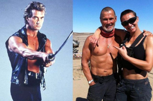 Legendary Action Movie Stars in Their Glory Days