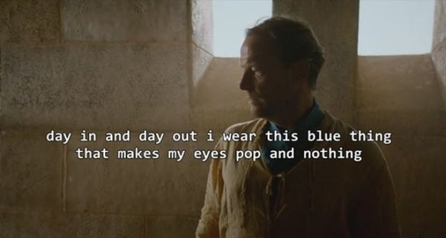 "No One Understands the Friendzone better Than Jorah from ""Games of Thrones"""