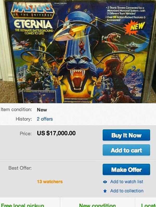 80s Toys That Sold for a Fortune on eBay