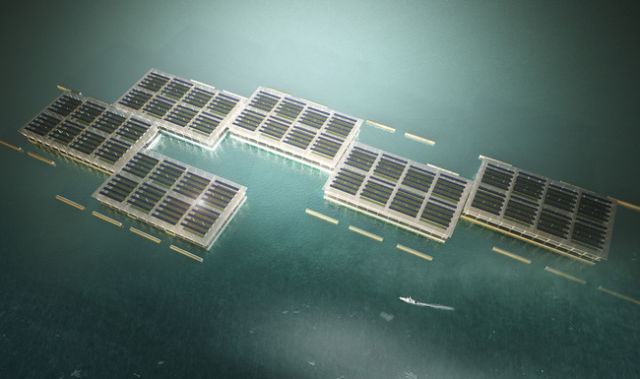 A Floating Solar Farm Is the Way of the Future