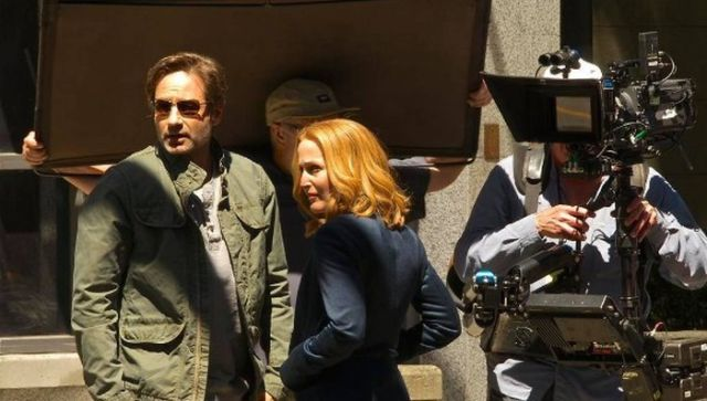 Mulder and Scully Are Finally Reunited and They Look Happier Than Ever