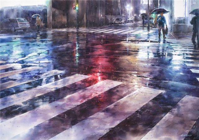 An Artist Who Uses Watercolors to Bring the World to Life on Canvas