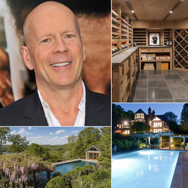 Bruce Willis's New Luxury Mansion
