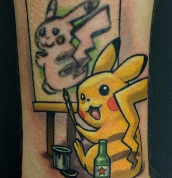 How to Turn a Bad Pokémon Tattoo into a Work of Art