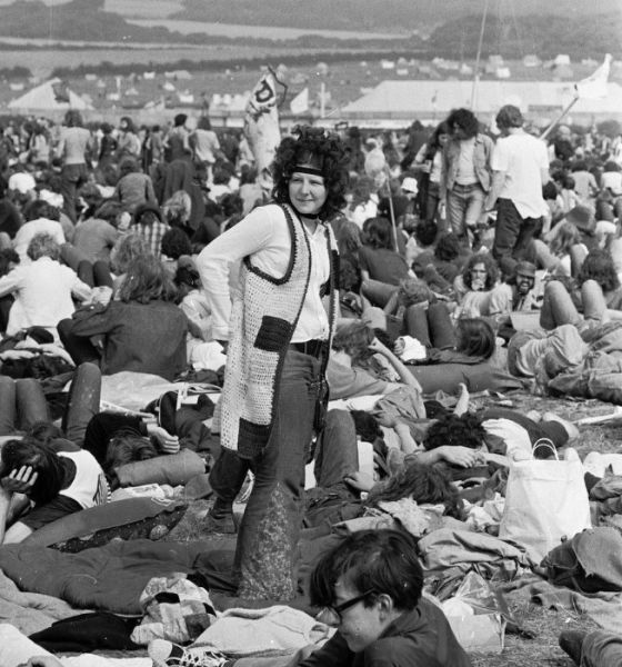 "Old-School Pics Taken at the 60s and 70s ""Isle of Wight Festival"""