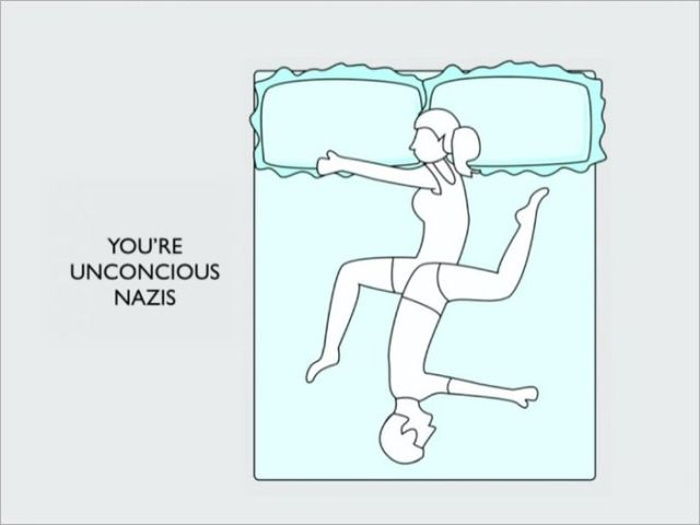How You Sleep Says a Lot about Your Relationship