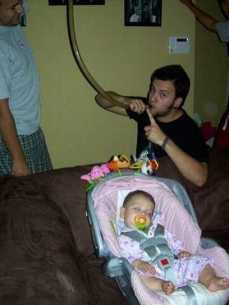 Proof That Some Dad's Are Not Cut Out for the Job