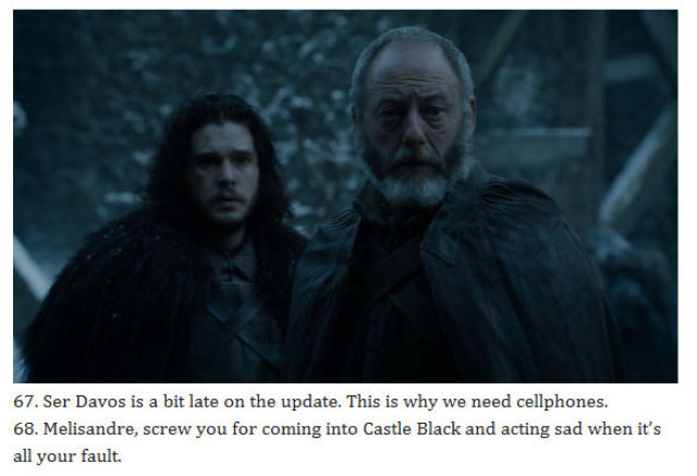 "What People Were Really Thinking During the ""Game of Thrones"" Season 5 Finale"