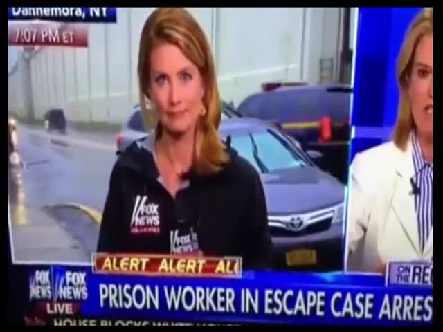 Man Smuggles Goods into Prison on Live TV  (VIDEO)