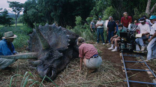 "Behind-the-scenes for the Making of the Original ""Jurassic Park"" Films"