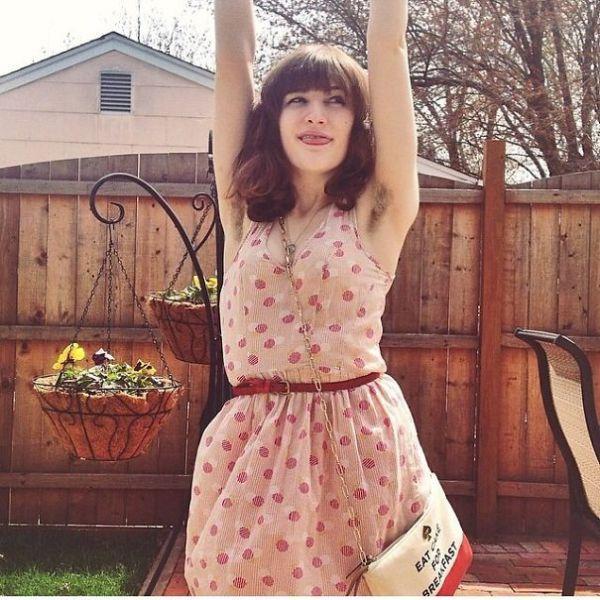 Hairy Female Armpits are the Latest Instagram Sensation