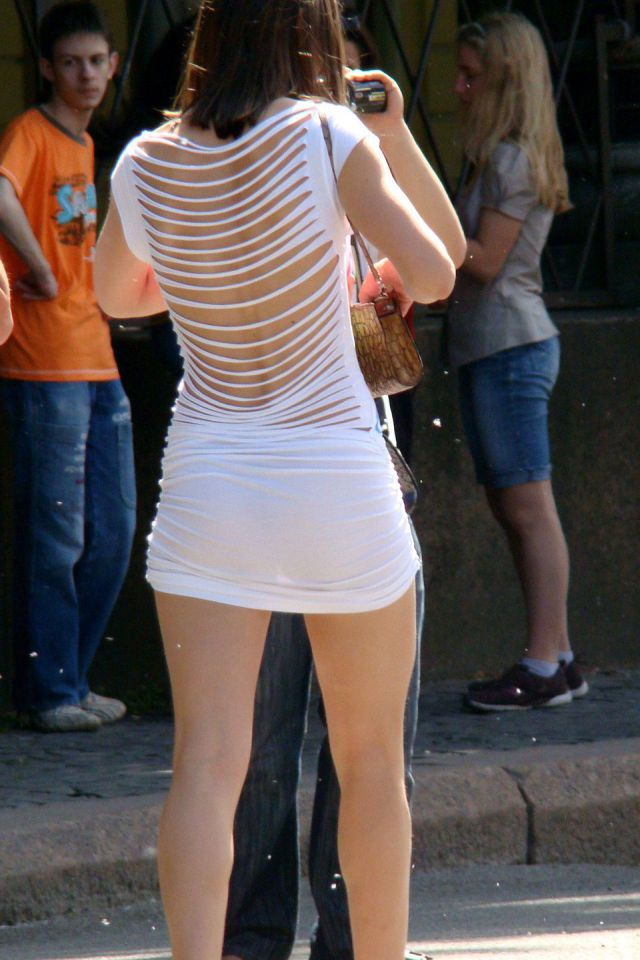 See Through Clothes Will Definitely Give You Something to Smile About