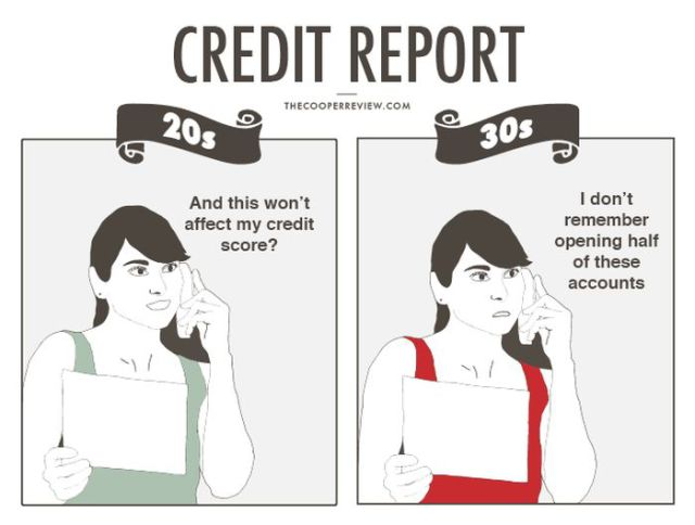 The Hilarious Differences between Money in Your 20s vs. Money in Your 30s