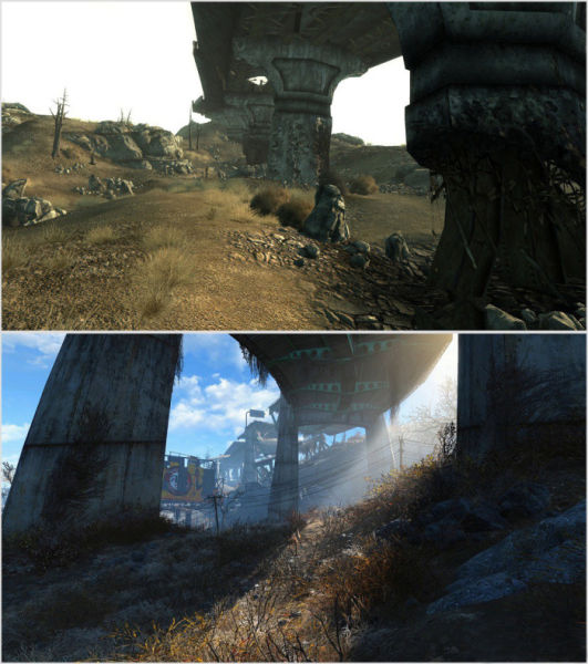 A Fallout 4 vs. Fallout 3 Graphic Comparison