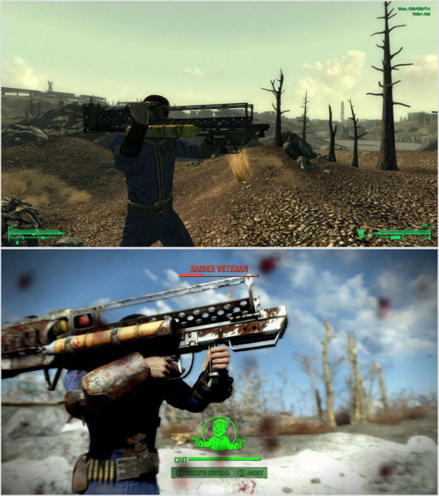 A Fallout 4 vs. Fallout 3 Graphic Comparison