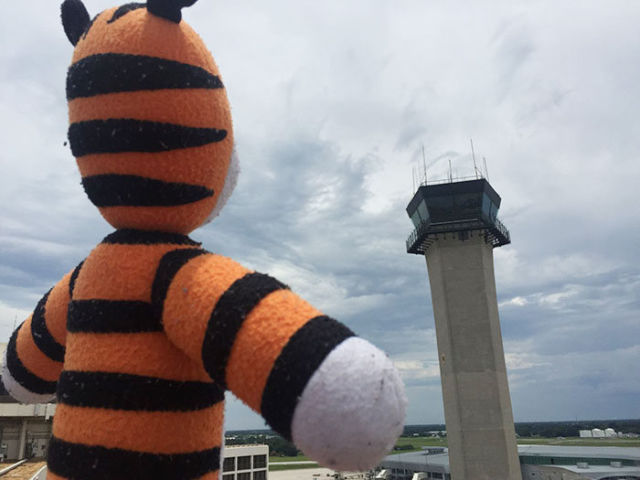 Airport Staff Treat Kids Lost Toy to an Epic Sightseeing Tour