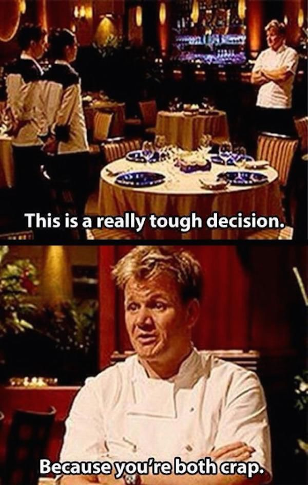 Gordon Ramsay's Insults are So Sharp They Cut Like a Knife