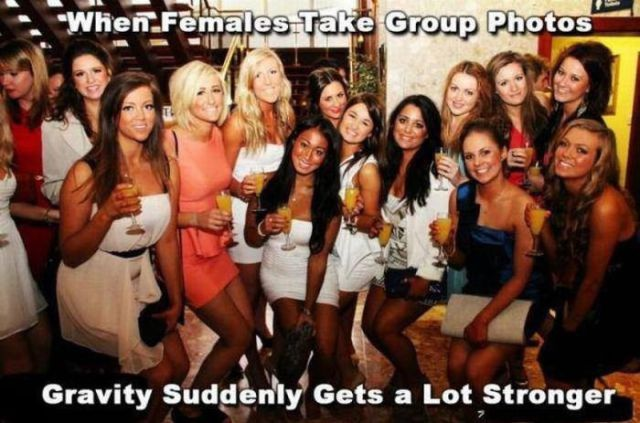 Taking a Group Photo Is Not an Exact Science