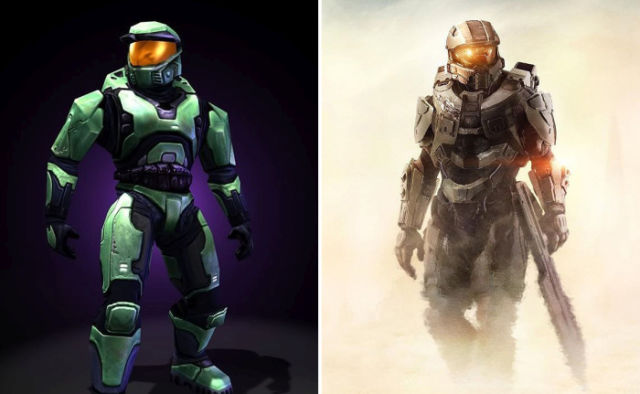 The Evolution of Popular Video Game Characters over the Years