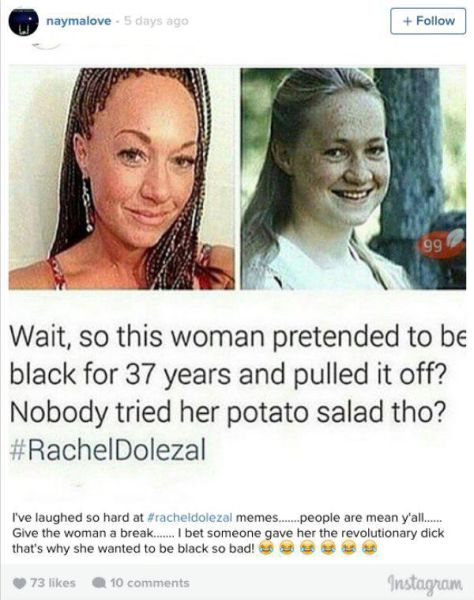 "The Internet Explodes with Commentary on the Very White ""Black Woman"""