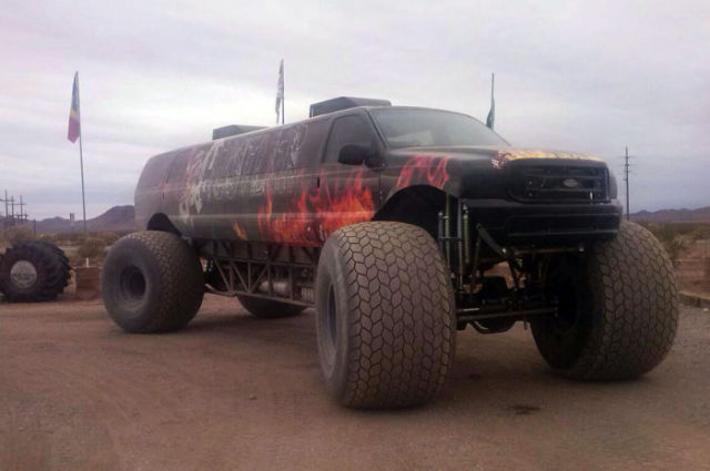 A Monster Truck Conversion into a Kick-Ass Limousine