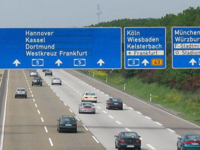 German Autobahn Is Not Like the Others